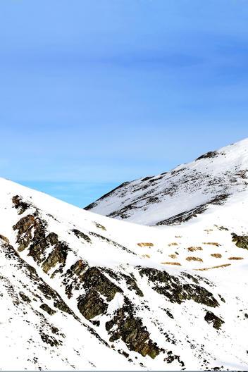 Pistas de la Estación de esquí de San Isidro en León